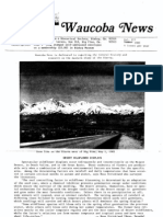 Waucoba News Vol. 7 Summer 1983