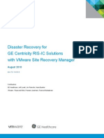 GE Centricity RIS IC Solutions With VMware Site Recovery Manager WP