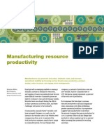 Manufacturing Resource Productivity
