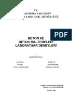 Beton Lab. Kitap 16.10