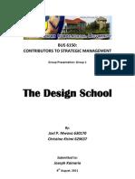BUS6150_GROUP I_Paper_Strategy Safari - Design School