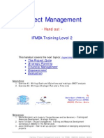 Project Management - L2 - Hand Out