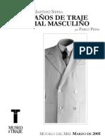 300 años de traje formal masculino
