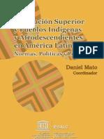 Educación Superior y Pueblos Indígenas y Afroamericanos en América Latina