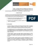 Convocatoria 2012 2013 ISD