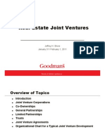Real Estate Joint Ventures and Conducting a Thorough Due Diligence for Real Estate Transactions