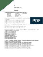 Lista Geometria Descritiva