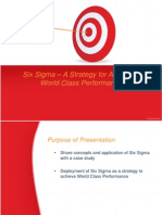 Six Sigma – A Strategy for Achieving Success