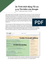 Sách hướng dẫn SEO căn bản của Google 2008