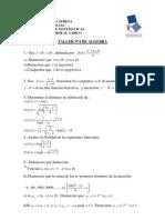 Taller n 3 de Algebra