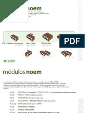 Catálogo Módulos Noem Madera Tratada Edificio