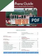 Pilgrims Sadhana Guide