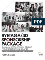 RYETAGA Sponsorship Package Sample