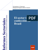 Estudio de Mercado Textil Brasil