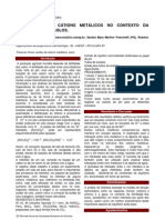 A Hidrolise de Cations Metalicos No Contexto Da Fertilidade Dos Solos