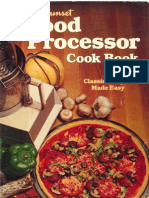 Sunset Food Processor Cookbook