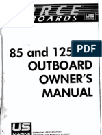 Force 85 125 Hp Outboard Owners Manual