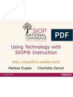 using technology with siop instruction