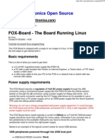 FOX-Board - The Board Running Linux