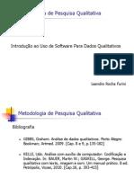 Uso de Software Para Pesquisa Qualitativa