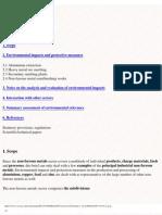 Environmental Impact of Non-Ferrous