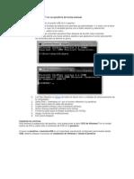 Instalación de Windows 7 en un pendrive de forma manual
