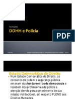 Anotações - DDHH e Polícia