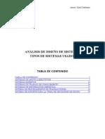 Tipos de Sistemas(Análisis y Diseño de Sistemas)