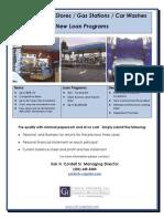 CH Capital - Gas Station Flyer