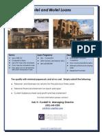 CH Capital - Hotel Flyer