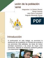 Distribución de la población en Panamá