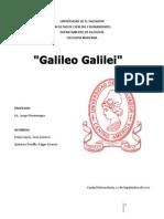 REPORTE DE GALILEO GALILEI
