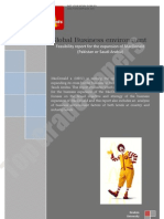 Global Business Environment - Feasibility Report for Expansion - Academic Assignment - Www.topgradepapers