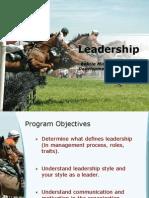 Draft Leadership for BMMDP