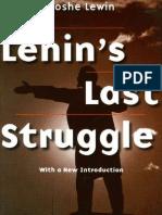 Lenin Last Struggle