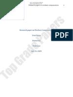 Workers Compensation - Academic Assignment Essay - Www.topgradepapers