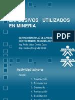 Explosivos Utilizados en Mineria