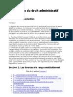 Les Sources Du Droit Administratif-PONTIER