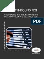 Tum - How to Report Inbound ROI HubSpot Feb 2012