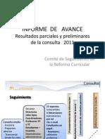 Reforma Académica de la UNIMET- Informe de Resultados Consulta 2011