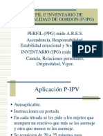 PERFIL E INVENTARIO DE PERSONALIDAD DE GORDON (P-IPG)