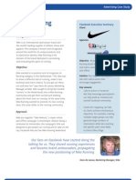 Nike Running Facebook Ad Case Study