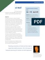 Sub Zero and Wolf Facebook Ad Case Study