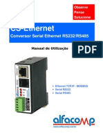 Manual do Conversor Serial Ethernet