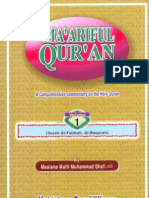 English Maariful Quran Mufti Shafi Usmani RA Vol 1