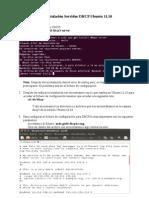 Instalación y Configuración de servidor DHCP3-SERVER en Ubuntu