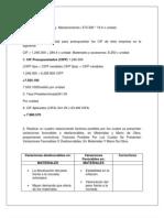 Formula Presupuestal
