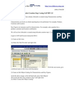 InfoCubeCreationinSAPBW3.5 Net