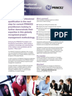 PRINCE2 Pro Qualification Introduction