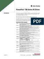 PowerFlex 750-Series AC Drive Installation Guide